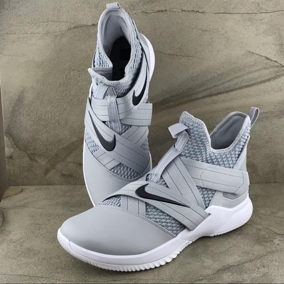 huge discount ddda1 767cc Nike LeBron Soldier 12 TB Promo Wolf Grey NWOB